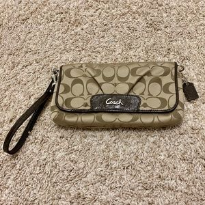 *Authentic* Coach Wristlet